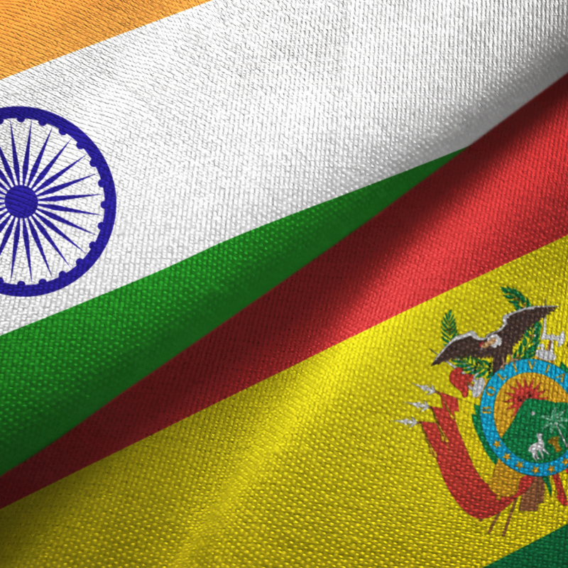 Bolivia records $1bn trade surplus with India in 2014-2018