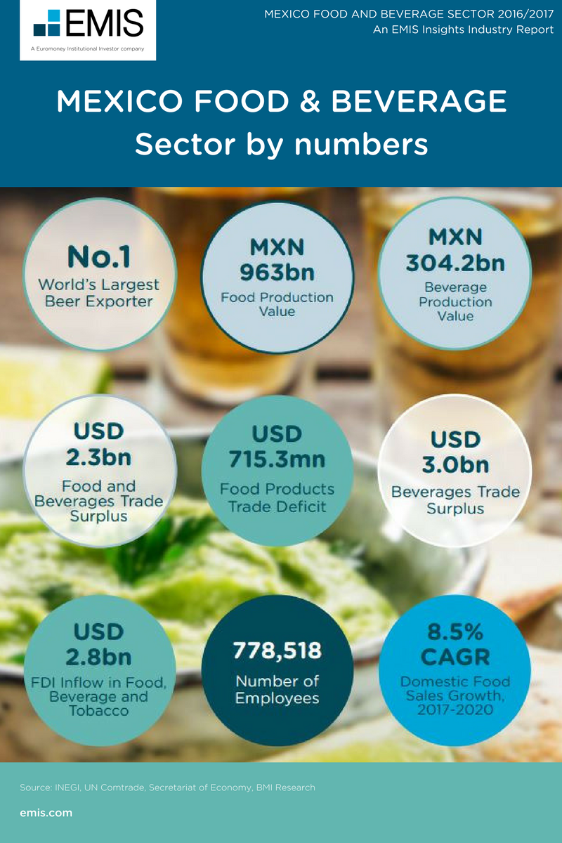 MEXICO FOOD AND BEVERAGE SECTOR 2016/2017