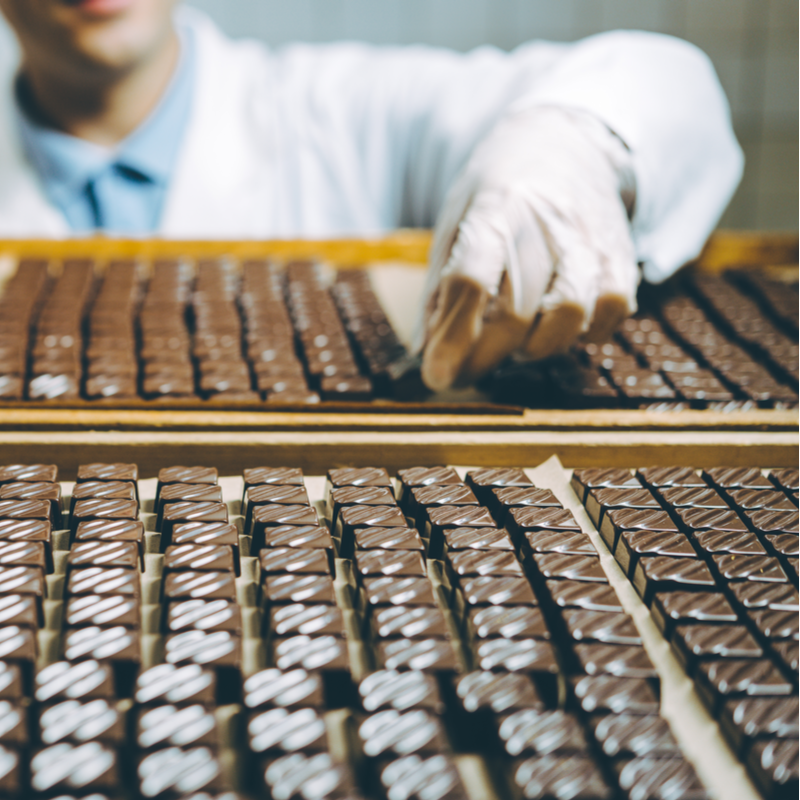 Romania's chocolate production stands at EUR 123 million in 2017