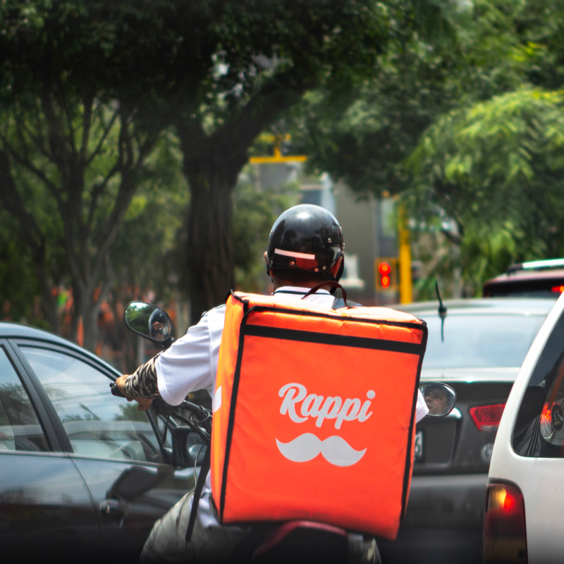 Rappi, the Colombian on-demand delivery app, raises USD 1bn from SoftBank