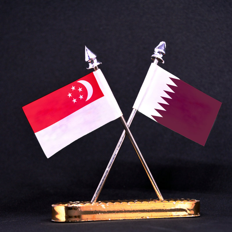 Qatar, Singapore's trade volume jumps 10% y/y in 2018