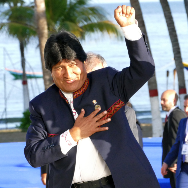 Evo Morales wins first round of elections in Bolivia, faces run-off