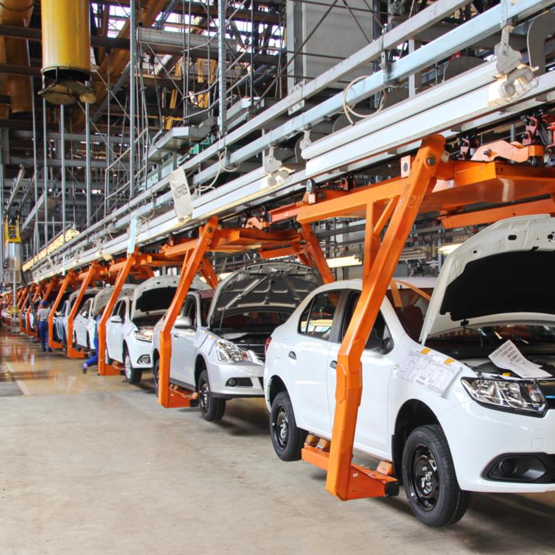 Mexico's automotive production rises 2% y/y in April